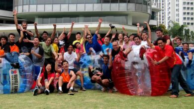 Photo of Team Building Singapore Shall Interrelate, Interconnect, And Intertwine The Group Members!